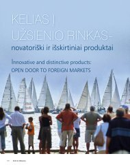 Innovative and Distinctive Products: Open Door to ... - Inovacijos.lt