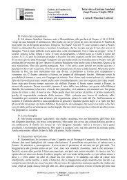 Intervista a Gaetano Sanchini (Anpi Pesaro, 5 luglio 1994) a cura di ...