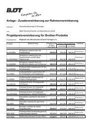 Anlage - Zusatzvereinbarung zur Rahmenvereinbarung ...