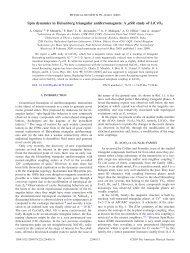 Spin dynamics in Heisenberg triangular antiferromagnets: A SR ...