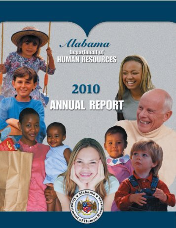 ANew 2010 report - Alabama Department of Human Resources