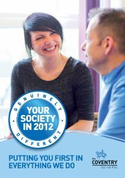 Genuinely Different Newsletter - Coventry Building Society