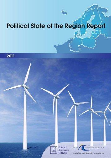 political state of the region report 2011 - Baltic Development Forum