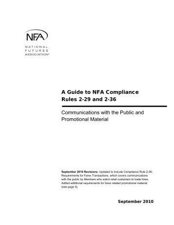 nfa compliance rule 2 29 c :: tidibelpo tk