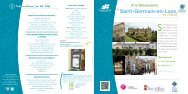 Brochure - Office de Tourisme de Saint-Germain-en-Laye