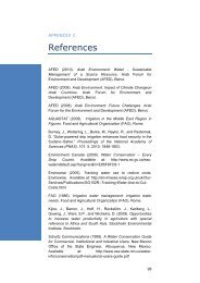References - Arab Forum for Environment and Development