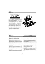 CONTENTS - OS Engines