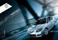 2009 m{ZD{ 3 - Mazda