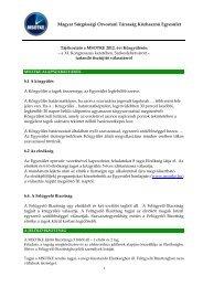 Választási értesítő - Magyar Sürgősségi Orvostani Társaság
