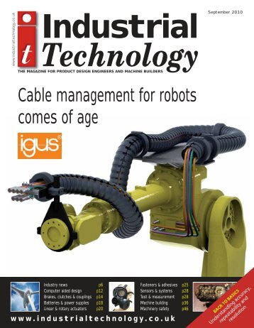 Cable management for robots comes of age - Industrial Technology ...