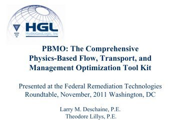 PBMO - Federal Remediation Technologies Roundtable