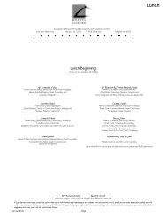 Lunch - Monona Terrace