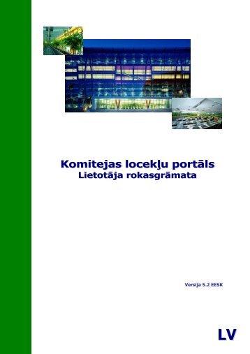 Komitejas locekĜu portāls - Europa