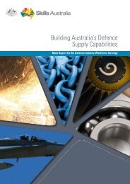 Building Australia's Defence Supply Capabilities - AWPA