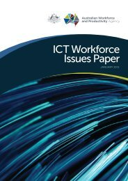 ICT Workforce Issues Paper - AWPA
