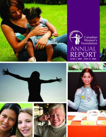 Annual Report 2006 - Canadian Women's Foundation