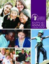 2006-2007 (PDF) - Canadian Women's Foundation