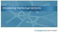 Introducing Intellectual Ventures