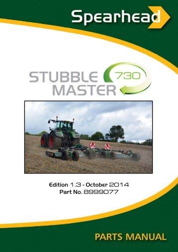 Stubble Master 730 - Spearhead Machinery Ltd