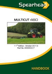 MULTICUT 460 - Spearhead Machinery Ltd