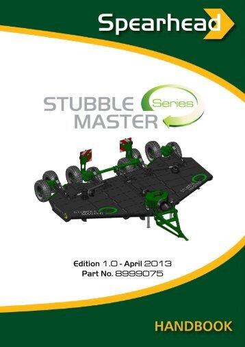Stubble Master 500 / 730 - Spearhead Machinery Ltd