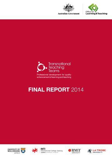 TTT Report final