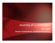 Journey of a complaint - New Zealand Aged Care Association
