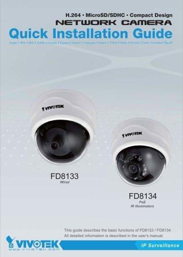 Quick Installation Guide - CCTV Cameras