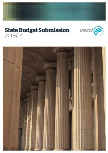 State Budget Submission - Vecci