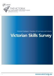 VECCI Victorian Skills Survey Report