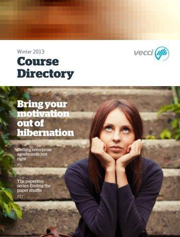 Download Winter 2013 Directory - Vecci
