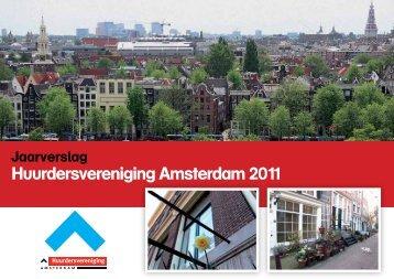 Jaarverslag 2011 - Huurdersvereniging Amsterdam