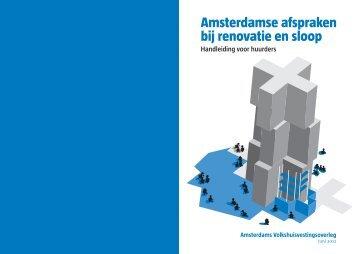 Amsterdamse afspraken bij renovatie en sloop - Huurdersvereniging ...
