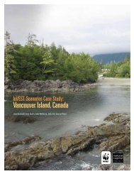 Vancouver Island Case Study - Natural Capital Project