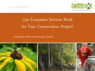 Presentation - Natural Capital Project