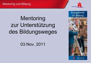 Mentoring - Ehrenamtmanagement