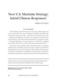 New US Maritime Strategy - Andrew S. Erickson