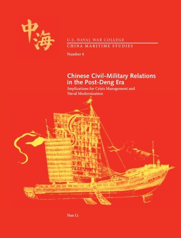 Chinese Civil-Military Relations in the Post-Deng Era - Andrew S ...