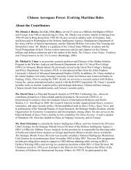 About the Contributors - Andrew S. Erickson