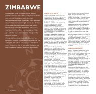 Zimbabwe: Overview map & introduction - Expert Africa