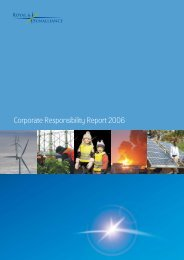 2006 Corporate Responsibility Report - Royal and Sun Alliance