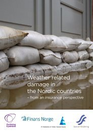 Weather related damage in the Nordic countries – from an insurance ...