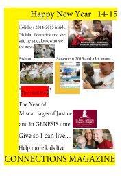 Connections Magazine Holidays 2014-2015