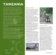 Tanzania: Overview map & introduction - Expert Africa