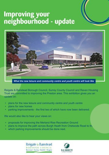 Exhibition Boards (PDF document [1.3Mb]) - Reigate and Banstead ...