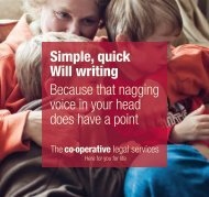 Introducing our Will-writing service - The Co-operative Bank