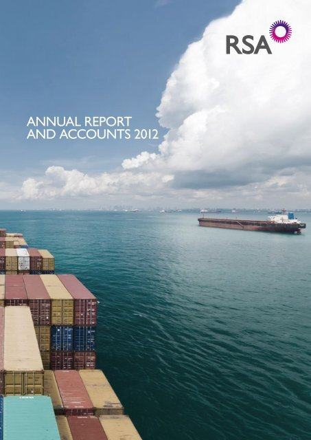 ANNUAL REPORT AND ACCOUNTS 2012 - RSA, Annual Report ...