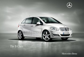 The B - Class - Mercedes-Benz