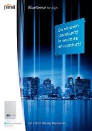 Brochure BlueSense HR-lijn - Ferroli