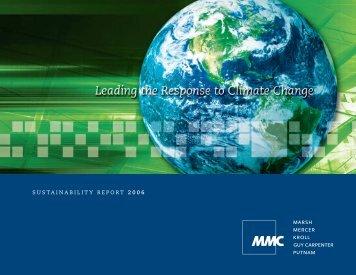 2007 - Marsh & McLennan Companies